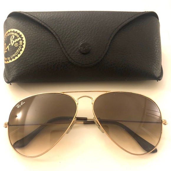 45731454b Ray-Ban Accessories | Ray Ban Aviator Gradient Rb3025 00151 5814 ...